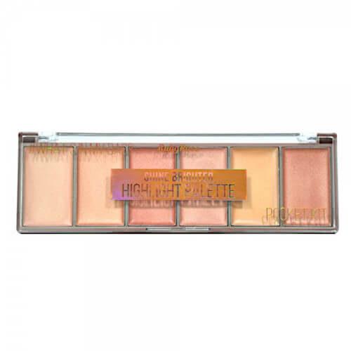 Iluminador Pocket Shine Brighter - Ruby Rose - HB7510 fechada - Sousa VIP