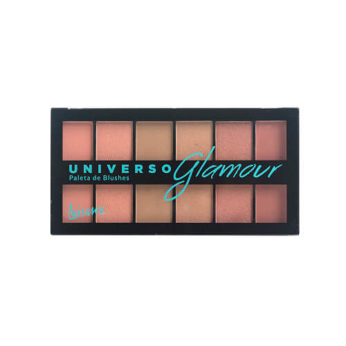 Paleta de Blushes Universo Glamour - Luisance - L1033 - Sousa VIP