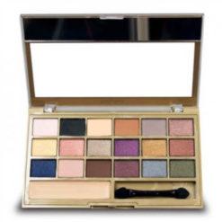 Paleta de Sombras Be Velvet - Ruby Rose - HB9915 aberta - Sousa VIP
