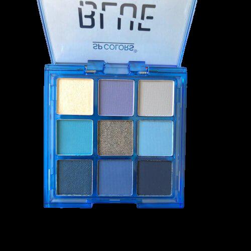 Box c/36 Un - Paleta de Sombras 6 Cores Deep Colors 5g
